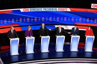 Sixth Democratic presidential primary debate