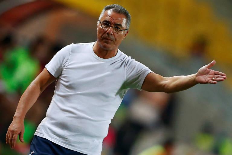O português Augusto Inácio, novo técnico do Avaí, que disputa a Série B do Brasileiro em 2020