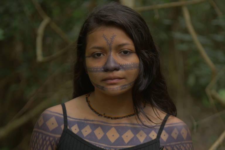 Bheka Munduruku, Guerreira indígena da etnia munduruku