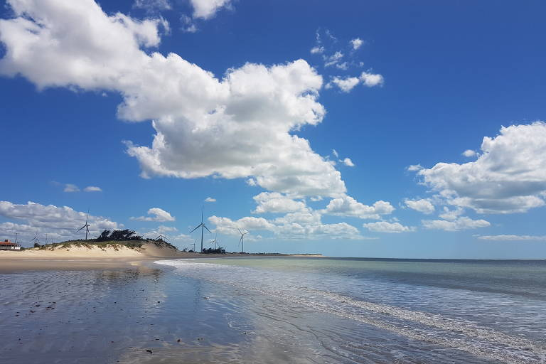 Praia do Marco, em RN