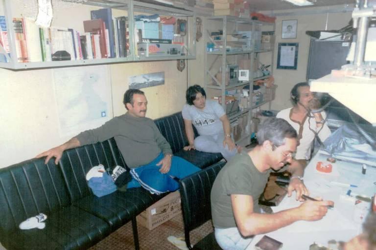 A inauguração da Estação Comandante Ferraz, em 1984