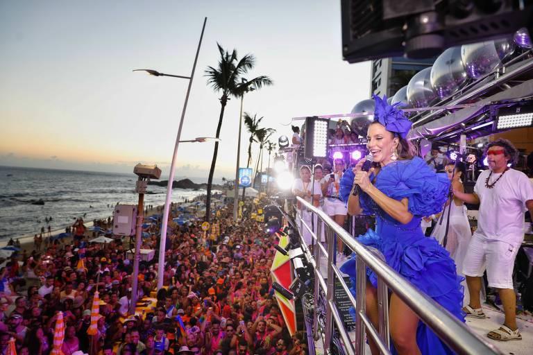 Ivete Sangalo vai recepcionar fãs para curtir Carnaval de Salvador com ela no trio elétrico