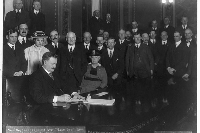 Cem anos da Lei Seca nos EUA: veja fotos históricas