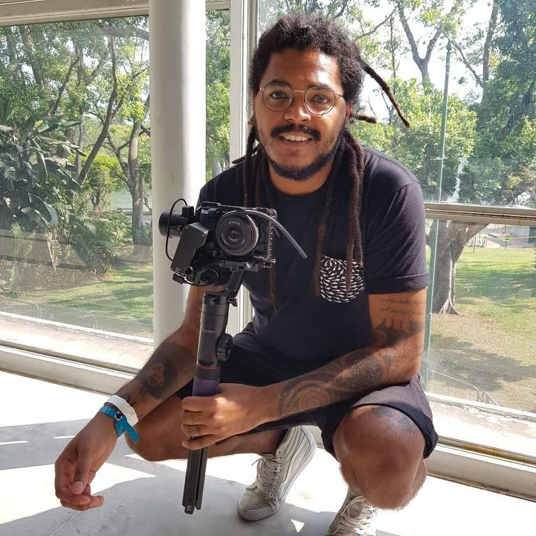Rodrigo Portela, fundador da Terra Preta produções