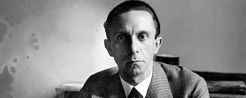 ORG XMIT: 312401_0.tif Cinema: o dirigente nazista Joseph Goebbels no documentário
