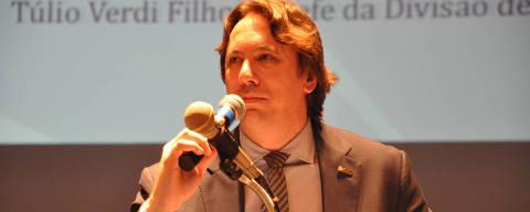 Saudir Luiz Filimberti quando era Diretor-geral Adjunto do Detran-RS