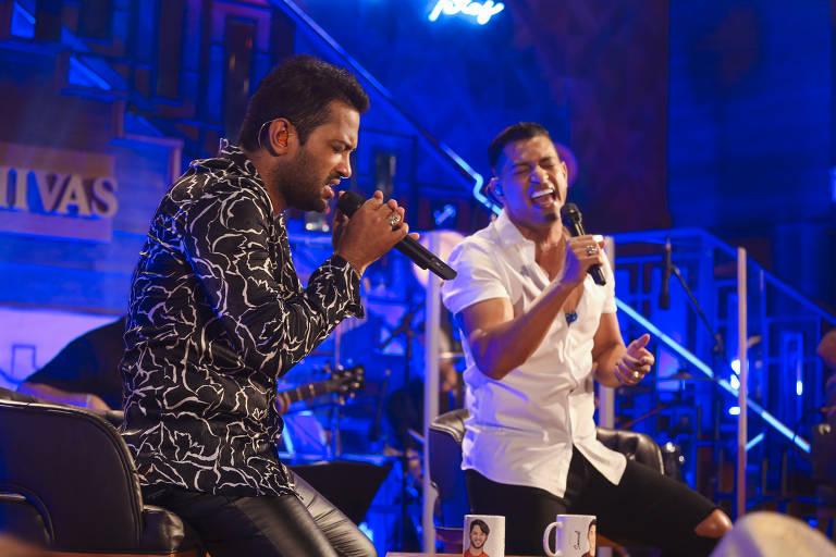 Gravação do DVD de Edy Britto e Samuel ao vivo em Goiânia