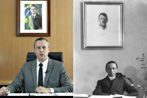 Estética e discurso do vídeo de Roberto Alvim têm origem anterior ao partido de Hitler