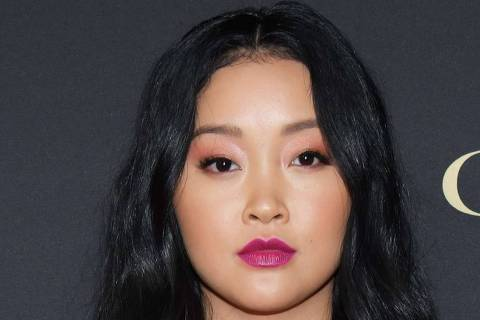 WEST HOLLYWOOD, CALIFORNIA - NOVEMBER 14: Lana Condor attends the HFPA And THR Golden Globe ambassador party at Catch LA on November 14, 2019 in West Hollywood, California.   Rodin Eckenroth/Getty Images/AFP == FOR NEWSPAPERS, INTERNET, TELCOS & TELEVISION USE ONLY ==