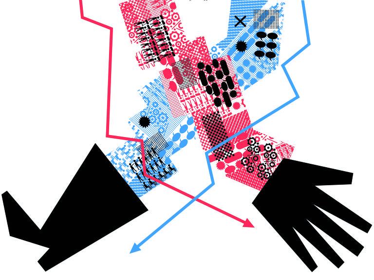 Ilustração página interna - Ilustríssima