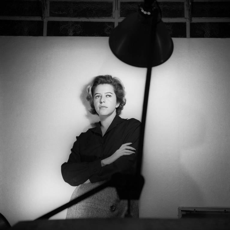 Fotos de Hilda Hilst são expostas no MIS