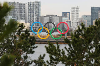 (SP)JAPAN-TOKYO-OLYMPIC SYMBOL