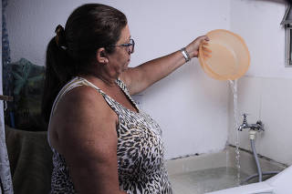 FALTA D?ÁGUA NA ZONA LESTE DE SÃO PAULO