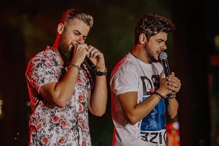 Dupla sertaneja Zé Neto e Cristiano participa do Baile da Santinha em Salvador