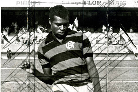 LOCAL DESCONHECIDO, 00-00-1970: Futebol: o jogador Fio Maravilha da equipe do Flamengo. (Foto: Acervo UH/Folhapress)