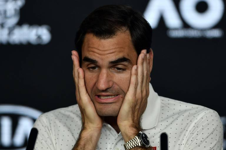Roger Federer em entrevista antes de sua estreia no Australian Open, marcada para este domingo (19)