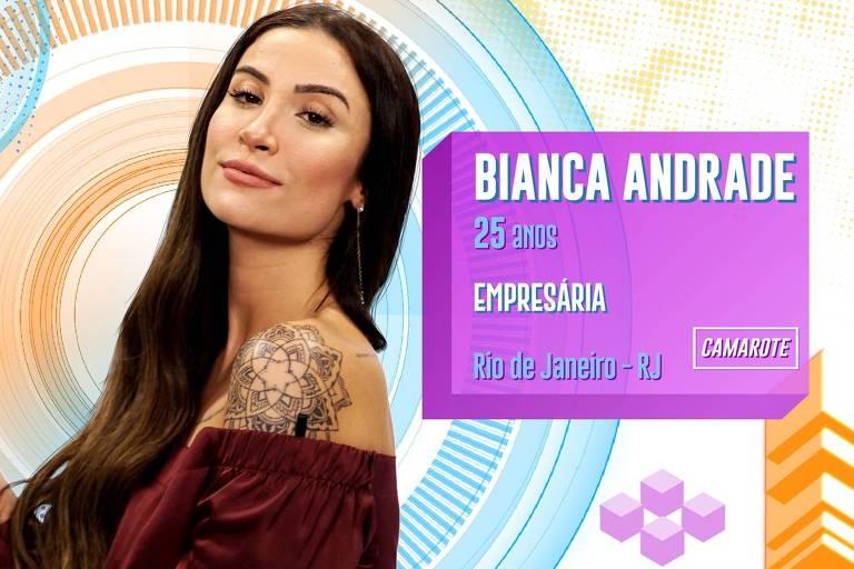 Bianca Andrade, influenciadora conhecida como Boca Rosa, é participante pela equipe Camarote