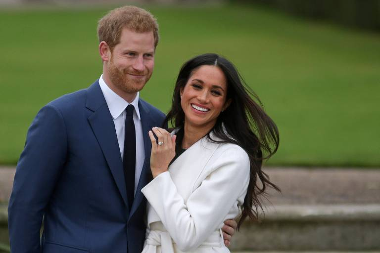 O príncipe Harry e a atriz Meghan Markle