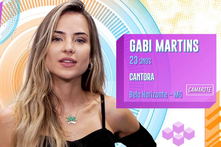 Gabi Martins é cantora e acha que o programa vai ser o desafio mais louco de sua vida