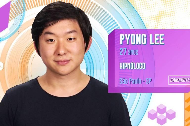 Pyong Lee é hipnólogo e youtuber e integra a equipe Camarote