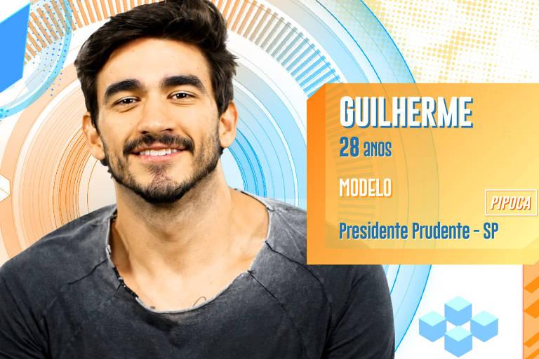 Guilherme tem 28 anos e tem sete ex-namoradas. É de Presidente Prudente (SP)