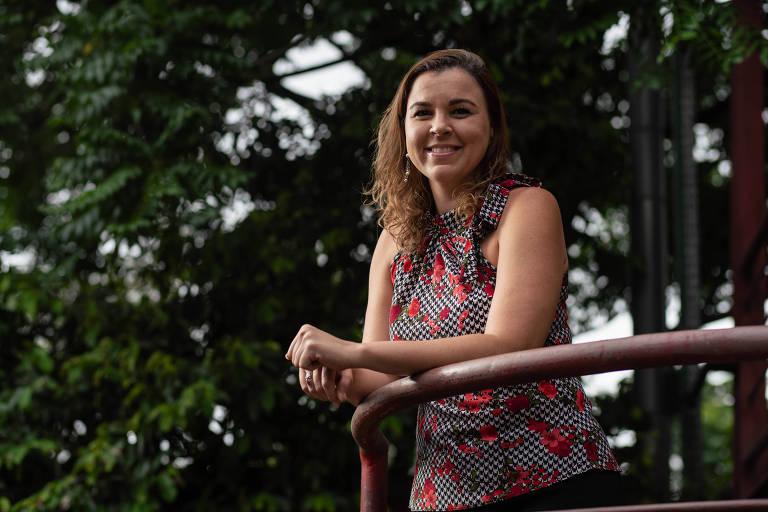 A secretária-executiva Carla Duarte, que decidiu esperar o casamento para reiniciar vida sexual