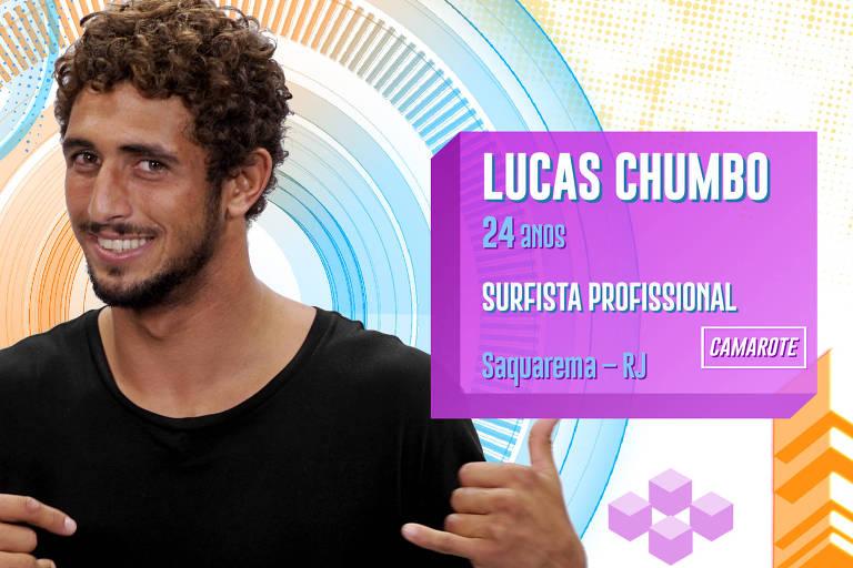 Lucas Chumbo é surfista, mulherengo e romântico