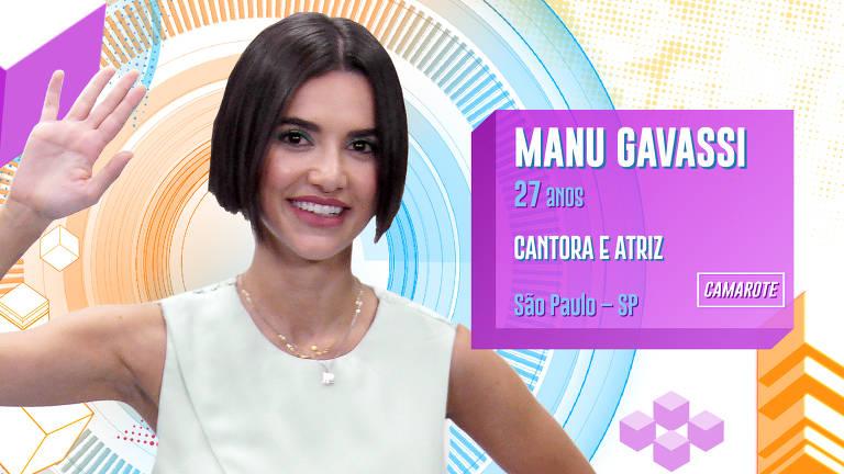 Manu Gavassi é cantora e afirma que está fechada para relacionamentos amorosos na casa