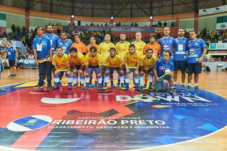 Seleção brasileira down de futsal