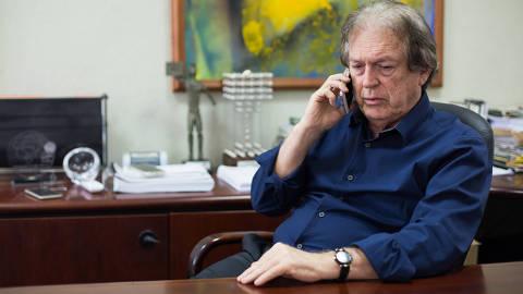 RECIFE, PE, 03.12.2018 - Luciano Bivar, presidente do PSL (Partido Social Liberal). (Foto: Clara Gouvêa/UOL/Folhapress)