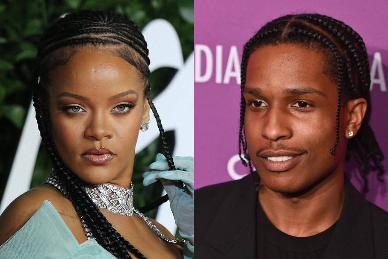 A$AP Rocky e Rihanna estariam se encontrando
