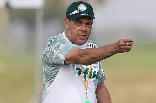 Treino do Palmeiras em Orlando