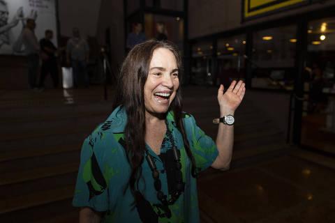 SAO PAULO, SP, BRASIL 12.12.2019 Regina Duarte (atriz). Celebração Antunes Filho 90 Anos - Abertura da exposição