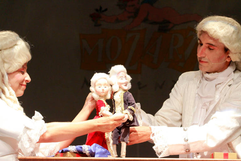 Espetáculo infantil Mozart Moments