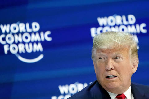 Trump diz a Fórum de Davos para rejeitar alarmismo ambiental