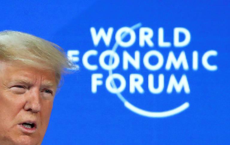 EUA voltaram a vencer, diz Trump em Davos