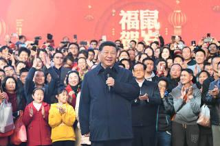 CHINA-KUNMING-XI JINPING-INSPECTION (CN)