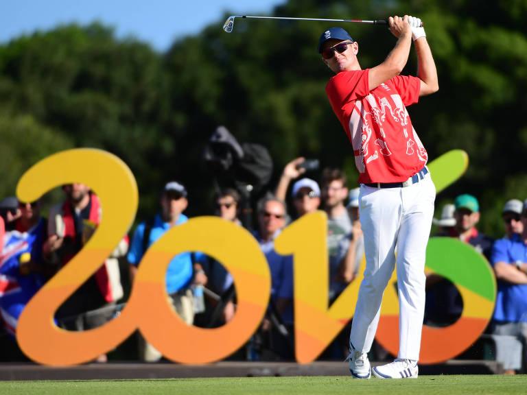 O britânico Justin Rose foi o medalhista de ouro na Rio-2016