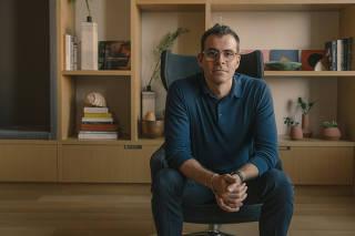 Adam Mosseri, head of Instagram, at the social media platform's offices in Manhattan, Oct. 23, 2019. (Ricky Rhodes/The New York Times)