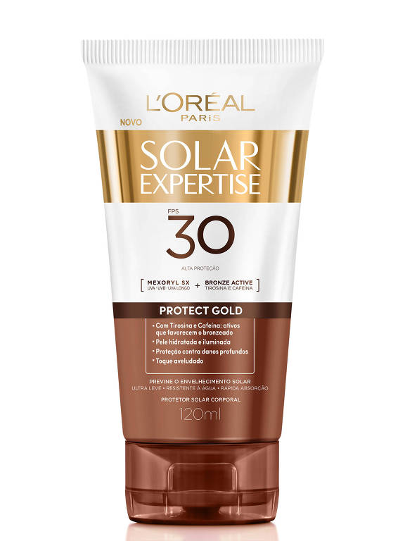 L'Oréal Paris Solar Expertise Protect Gold FPS 30