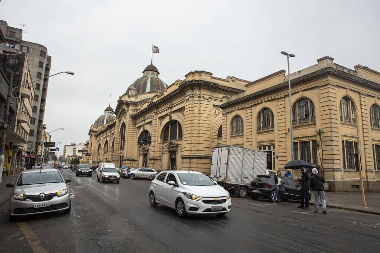 Mercado Municipal hoje em dia