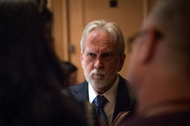 O psicólogo James Mitchell, que ajudou a criar o programa de interrogatório da CIA após o 11 de Setembro