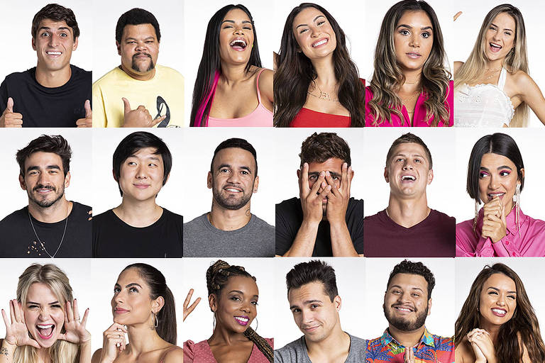 Participantes do Big Brother Brasil 20
