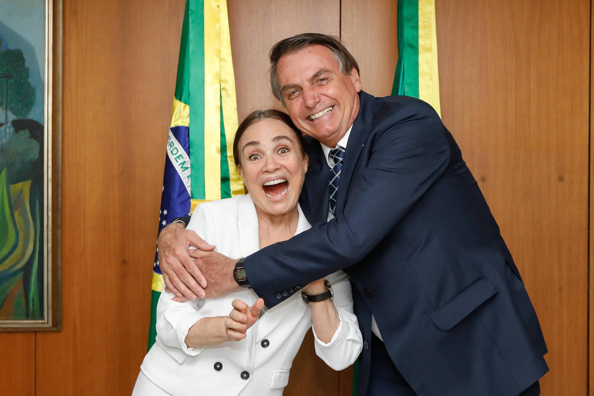 Será que Regina Duarte se apaixonou por Bolsonaro?, pergunta Daniel Filho