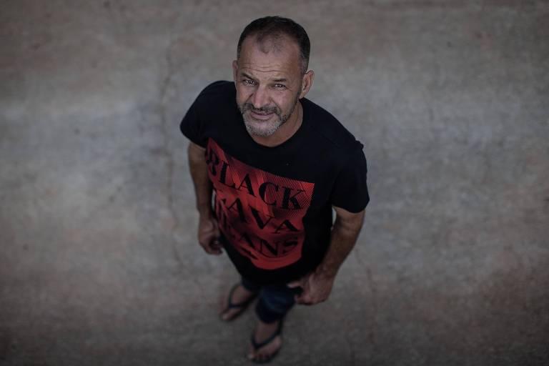 Elias de Jesus Nunes, 45, que escapou com vida em uma caminhonete na tragédia da Vale em Brumadinho