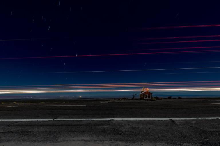 Ensaio captura rastros de luz