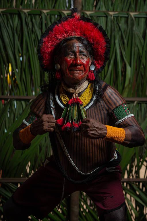 O indígena Tekrery Takakddjaj