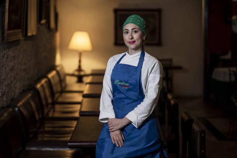 Bianca Marino, gerente do restaurante Carlino, o mais antigo de São Paulo