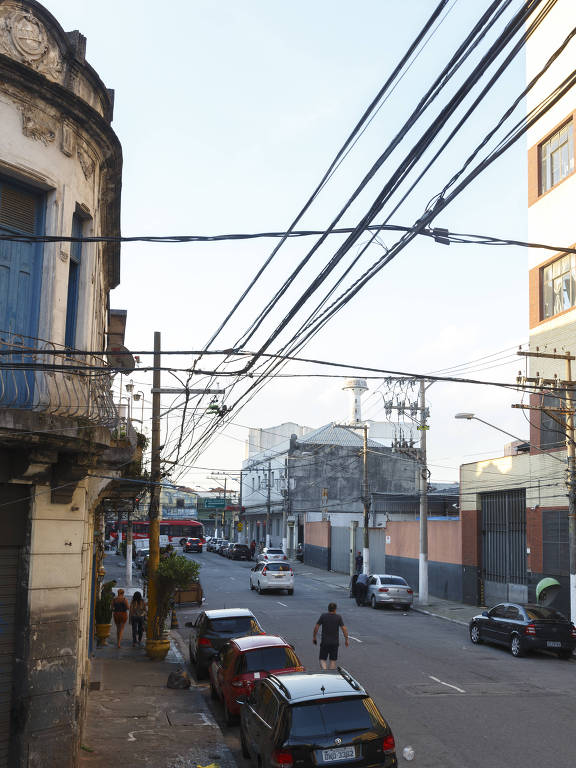Rua Caetano Pinto, no Brás, atualmente