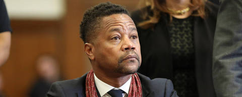 Actor Cuba Gooding Jr. appears for a hearing at New York Criminal Court in Manhattan borough of New York City, New York, U.S., January 22, 2020. Alec Tabak/Pool via REUTERS ORG XMIT: NYK506